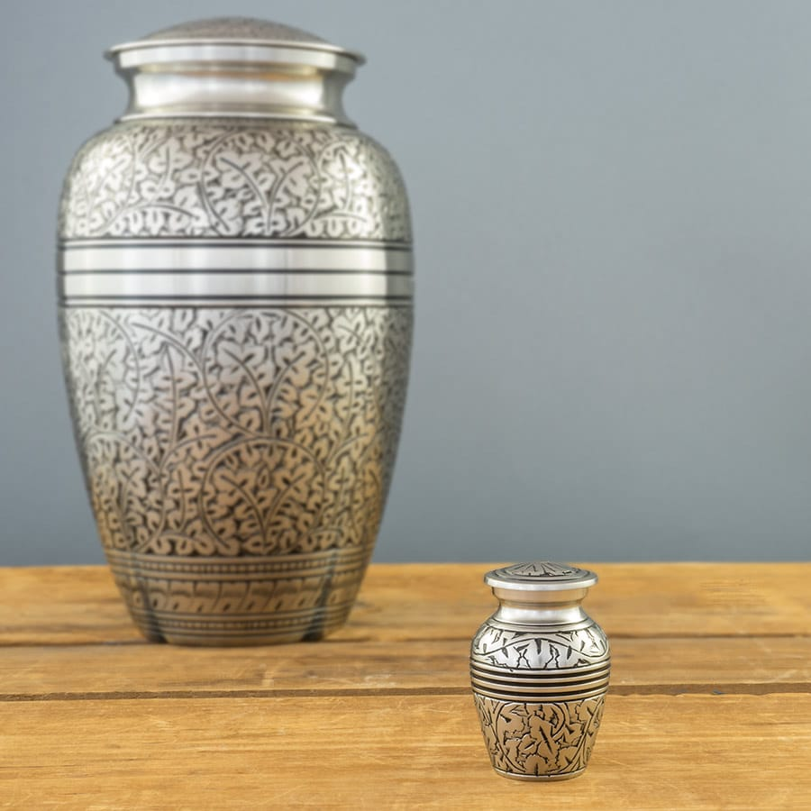 Silver Oak Keepsake Urn