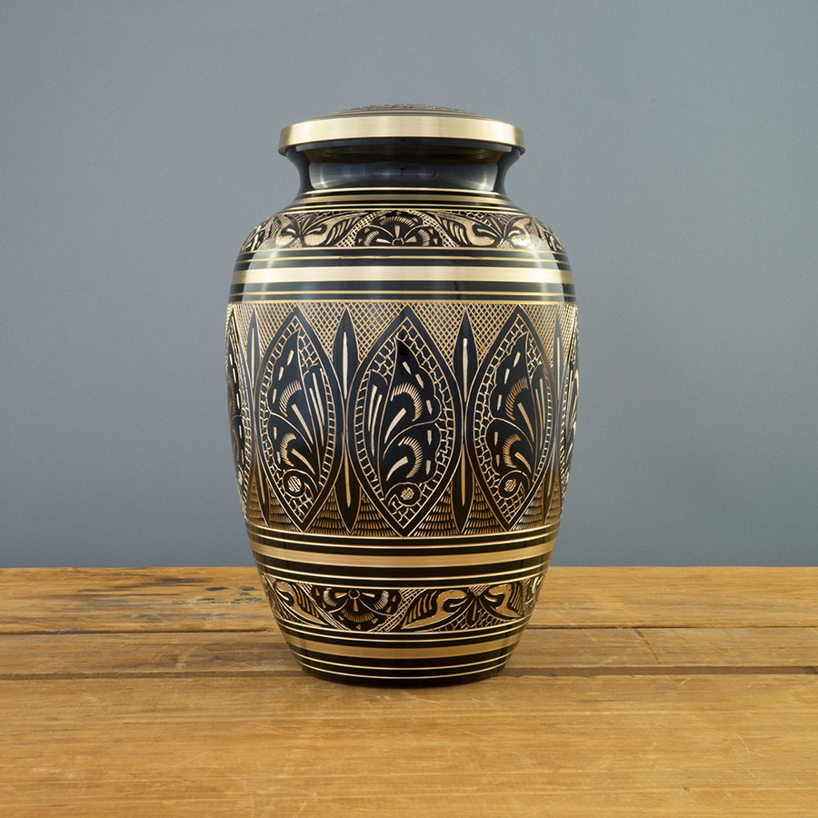 Moderne Urn on Grey